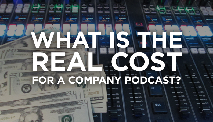 real cost of a podcast