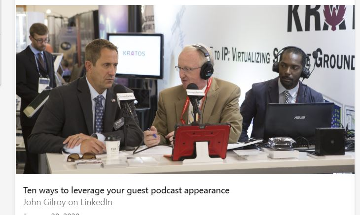 HOW TO USE LINKEDIN TO PROMOTE YOUR PODCAST
