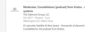 put podcast on LinkedIn